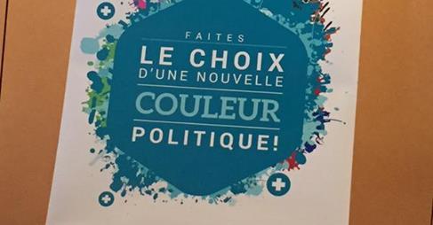 Le Centre Gauche pcs Le choix d'une nouvelle couleur politique !
